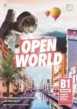 Open World Preliminary Self-Study Pack (Student's Book with Answers and Workbook with Answers and Class Audio) English for Spanish Speakers