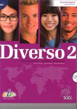 Diverso 2 + CD : Level A2 : Student Books with Exercises Book