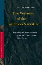 Two Versions of the Solomon Narrative