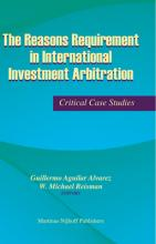 The Reasons Requirement in International Investment Arbitration