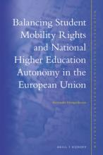 Balancing Student Mobility Rights and National Higher Education Autonomy in the European Union