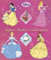 Disney Super sticker colorama prinsessen / druk 1