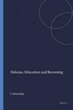 Deleuze, Education and Becoming