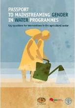 Passport to Mainstreaming Gender in Water Programmes