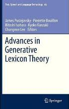Advances in Generative Lexicon Theory