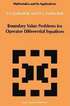 Boundary Value Problems for Operator Differential Equations