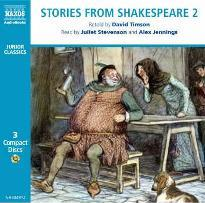 "Stories from Shakespeare: ""Julius Caesar "", ""The Merchant of Venice"", "" The Taming of the Shrew"", ""As You Like it"", ""Richard II"", ""Henry IV Part I and Part 2"", "" The Merry Wives of Windsor"" v. 2"