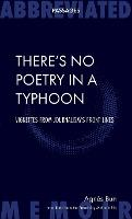 There's No Poetry in a Typhoon