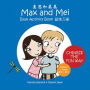 Max and Mei Blue Activity Book