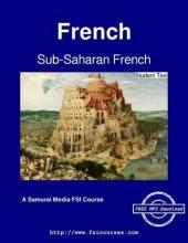 Sub-Saharan French - Student Text