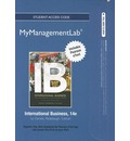 2012 MyManagementLab with Pearson Etext -- Access Card -- for International Business