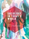Sociology in Today's World with Online Study Tools 12 months