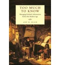 Too Much to Know