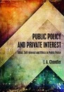 Public Policy and Private Interest