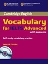 Cambridge Vocabulary for IELTS Advanced Band 6.5+ with Answers and Audio CD