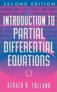 Introduction to Partial Differential Equations - Gerald B. Folland