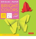 "Origami Paper - Bright Colors - 6"" - 49 Sheets"