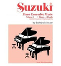 Suzuki Piano Ensemble Music: 1 Piano, 4 Hands - Second Piano Accompaniments v. 1