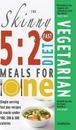 The Skinny 5:2 Fast Diet Vegetarian Meals for One