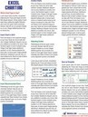 Excel Charting Laminated Tip Card