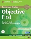 Objective: Objective First for Spanish Speakers Teacher's Book with Teacher's Resources CD-ROM