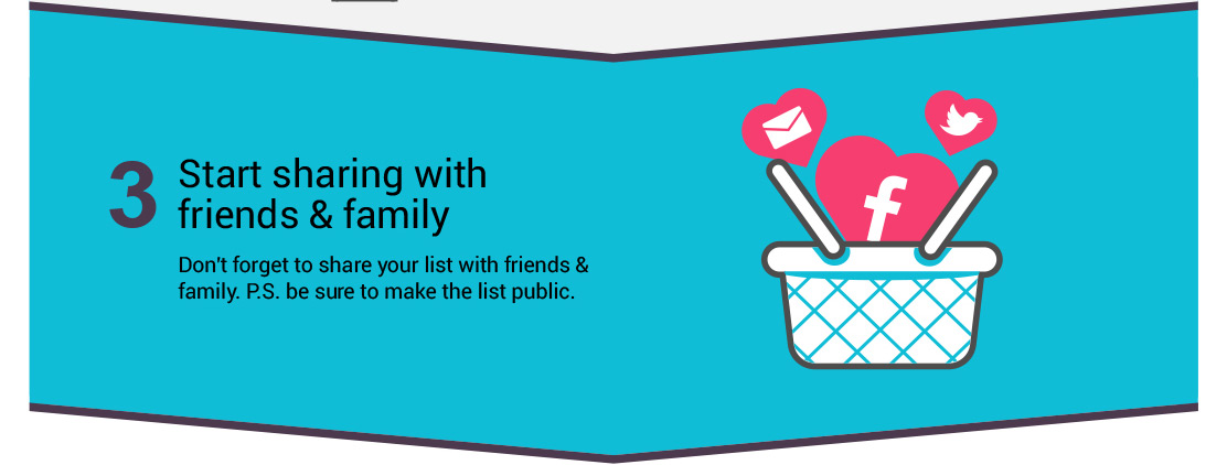 3. Start sharing with friends and family