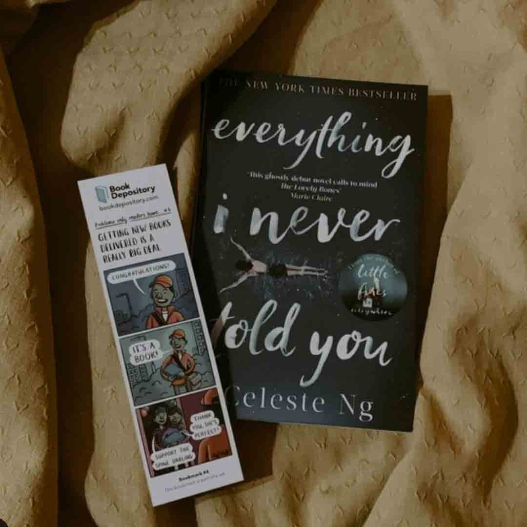 Everything I never told you Book Cover