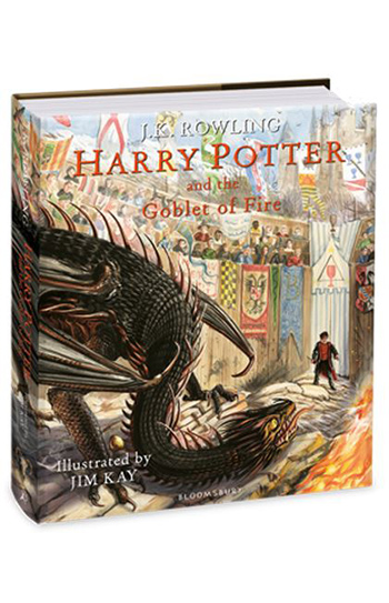 Harry Potter and the Goblet of Fire : Illustrated Edition