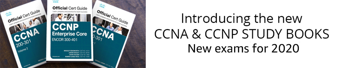 CCNA and CCNP Study Books