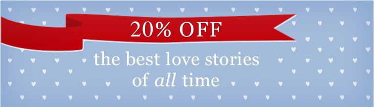 20% off the best love stories of all time