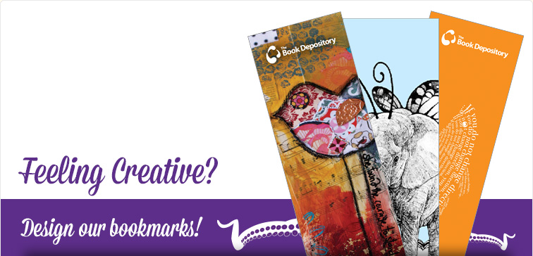 Feeling creative? Design our bookmarks!