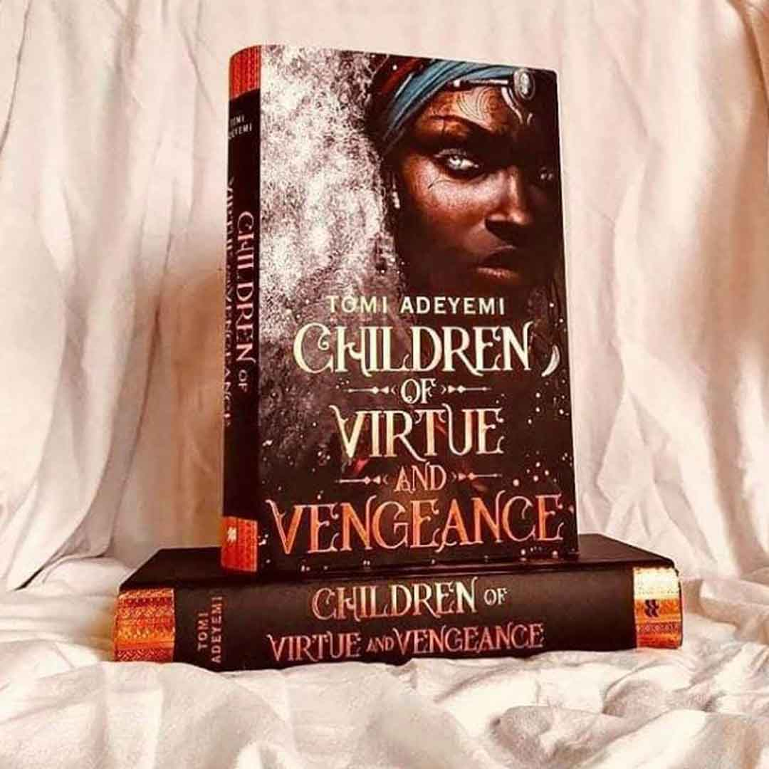 Children of Virtue and Vengeance Tomi Adeyemi Book Cover