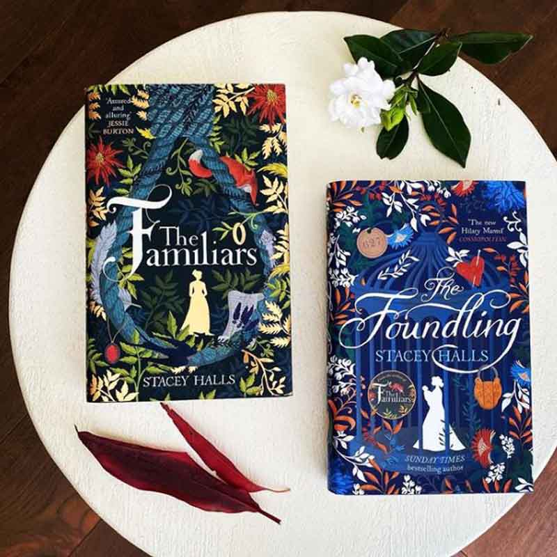 The Familiars Stacey Halls Book Cover
