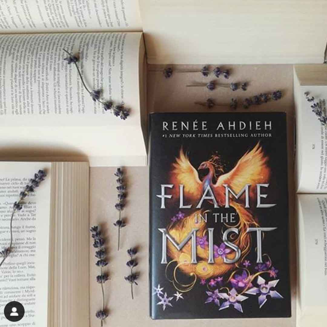 Flame in the Mist Renee Ahdieh Book Cover