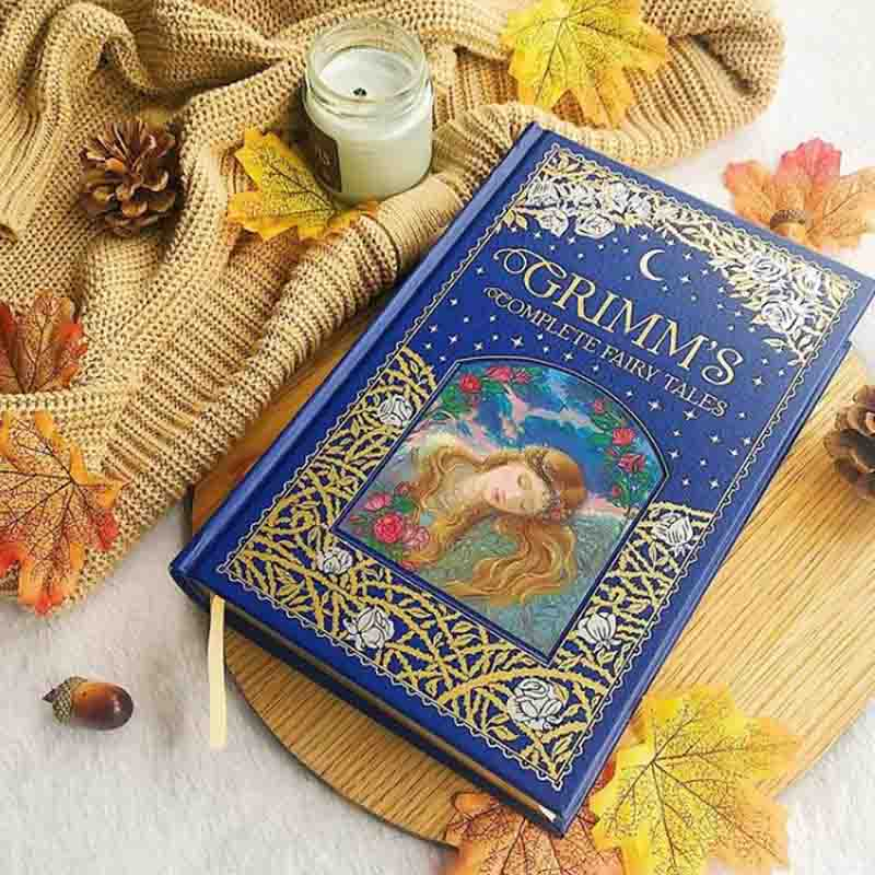 Grimm's Complete Fairy Tales Brothers Grimm Book Cover