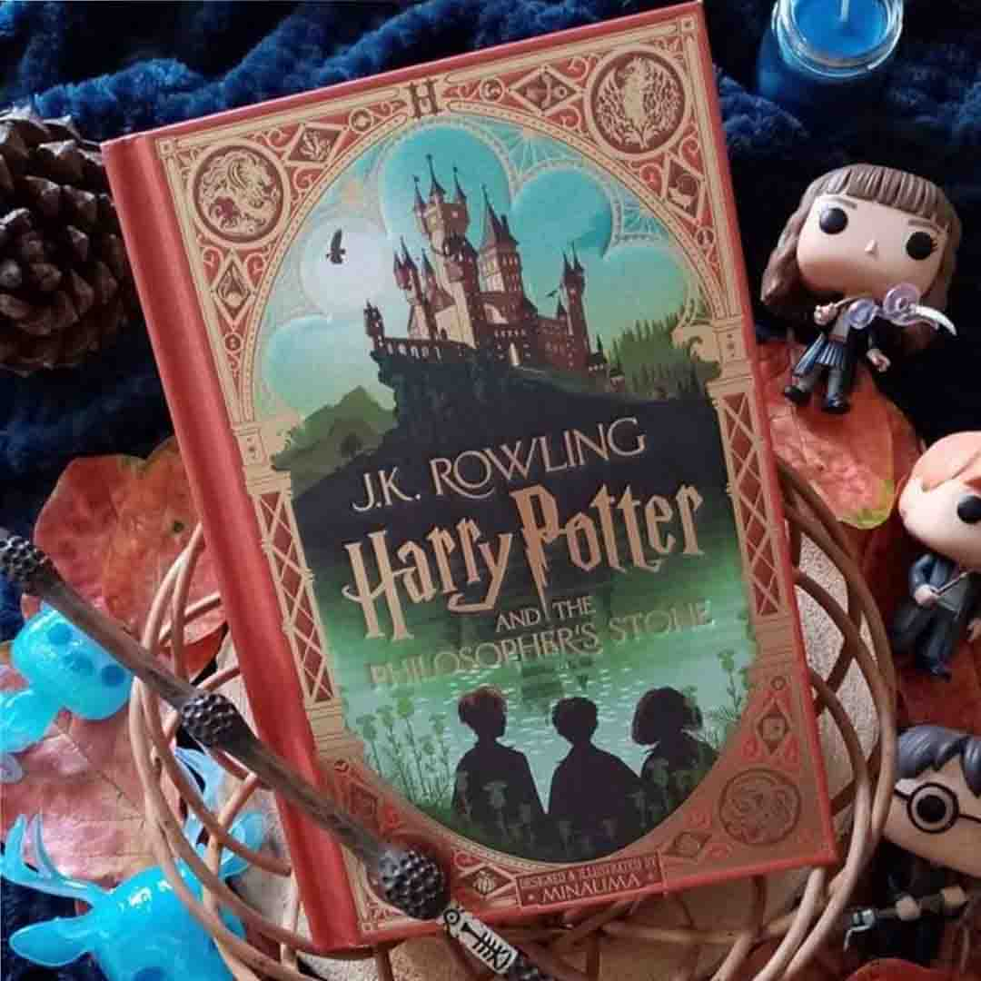 Harry Potter and the Philosohpers Stone Book Cover