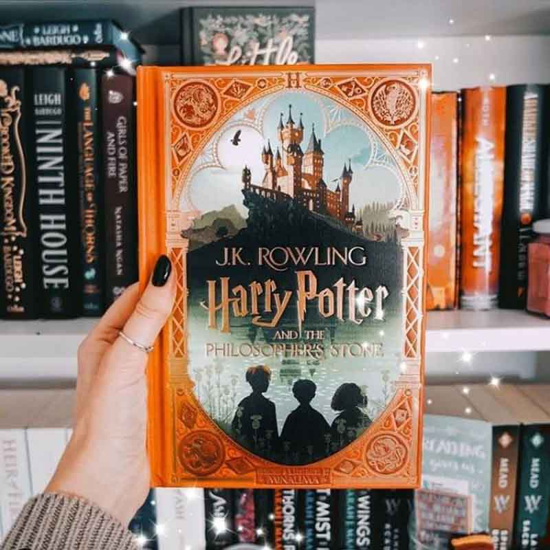 Harry Potter and the Philosopher Stone Book Cover