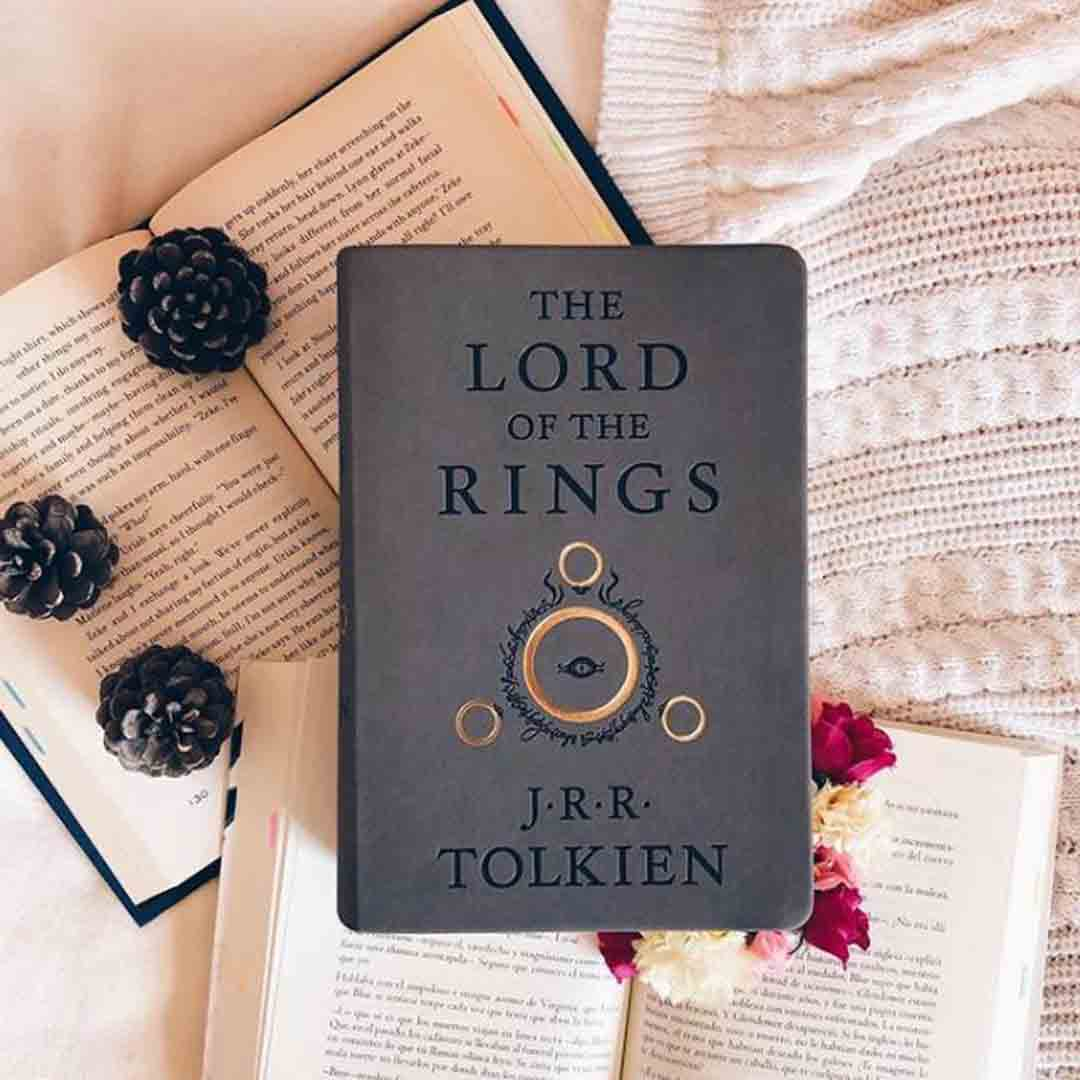 The Lord of the Rings J R R Tolkien Book Cover