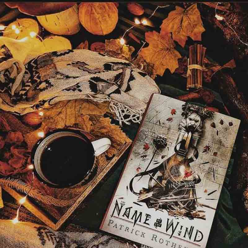 Name of the Wind Patrick Rothfuss Book Cover