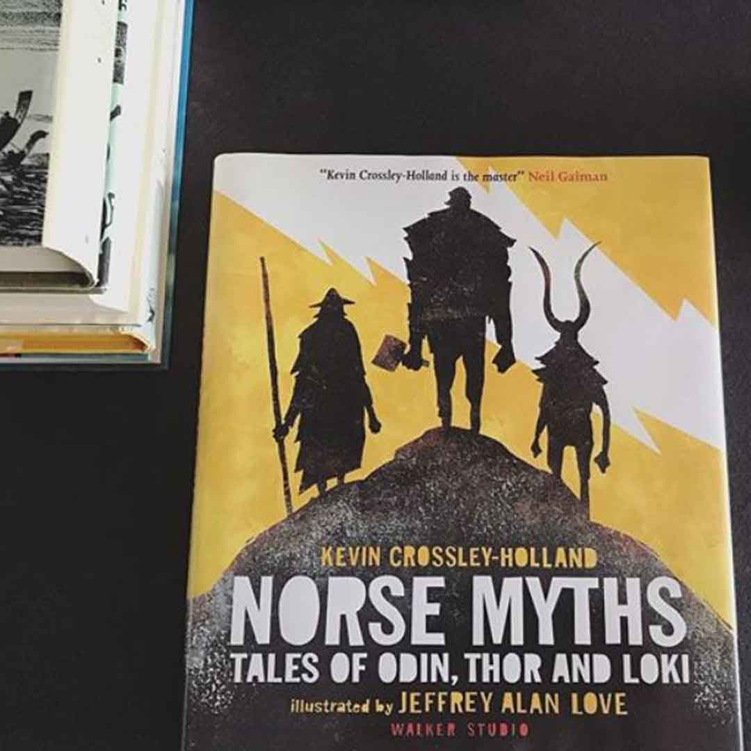 Norse Myths Kevin Crossley-Holland Book Cover