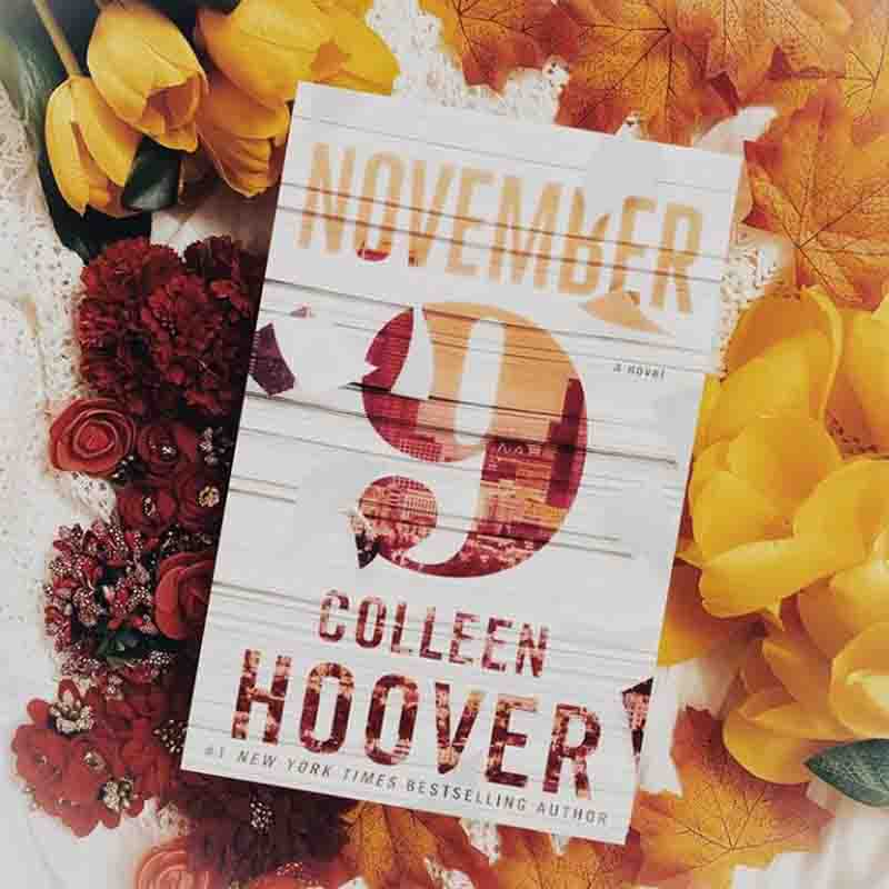November 9 Colleen Hoover Book Cover